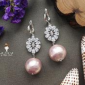 Украшения handmade. Livemaster - original item Shining earrings
