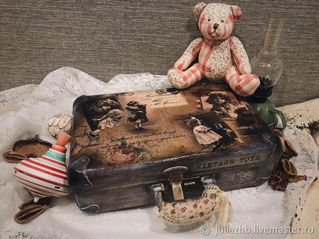 Nostalgia for childhood, suitcase vintage, Case, Sergiev Posad,  Фото №1