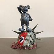 Для дома и интерьера handmade. Livemaster - original item Mickey mouse Dictator Long live the Empire!. Handmade.