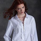 Одежда ручной работы. Ярмарка Мастеров - ручная работа Блузка FREEDOM. Handmade.