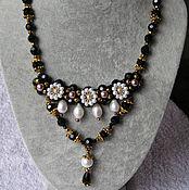 Украшения handmade. Livemaster - original item Necklace Evening with suspension. Handmade.