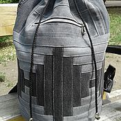 Сумки и аксессуары handmade. Livemaster - original item The Infinity II backpack Gray. Handmade.