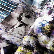 Материалы для творчества ручной работы. Ярмарка Мастеров - ручная работа Шёлк атлас Италия.. Handmade.