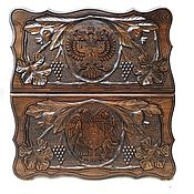 Активный отдых и развлечения handmade. Livemaster - original item Backgammon carved