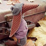Куклы и игрушки ручной работы. Ярмарка Мастеров - ручная работа Текстильная Такса Клео. Handmade.