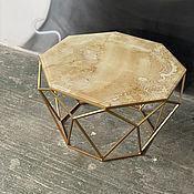 Для дома и интерьера handmade. Livemaster - original item Crystal coffee table. Handmade.