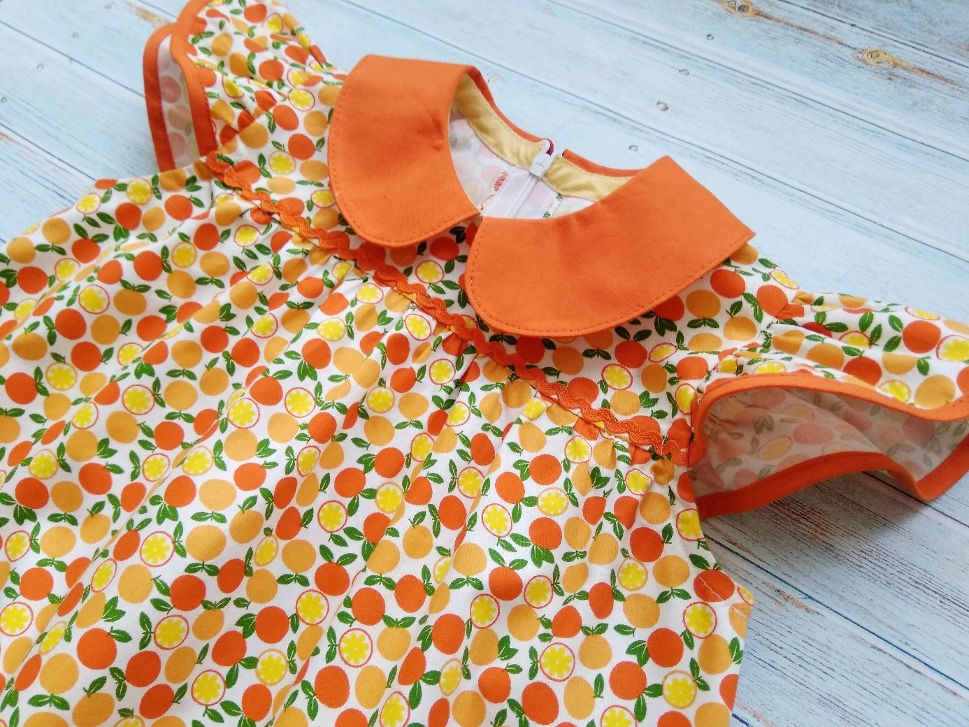 Платье Сочная апельсинка