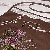 """Для дома и интерьера ручной работы. Ярмарка Мастеров - ручная работа Фартук """"Розы"""". Handmade."""