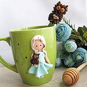 Посуда ручной работы. Ярмарка Мастеров - ручная работа Малышка с совушкой ..... Handmade.