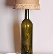 Для дома и интерьера handmade. Livemaster - original item Lamp - A Bottle Of Whispering Forest. Handmade.