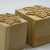 Материалы для творчества ручной работы. Ярмарка Мастеров - ручная работа Штампы деревянные для мыла. Handmade.