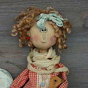Куклы и игрушки handmade. Livemaster - original item Doll: Primitive author`s doll funny doll. Handmade.