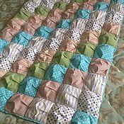 Для дома и интерьера ручной работы. Ярмарка Мастеров - ручная работа Детское покрывало-одеяло. Handmade.