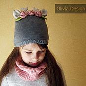 Работы для детей, ручной работы. Ярмарка Мастеров - ручная работа Комплект Оленёнок в цветах. Handmade.