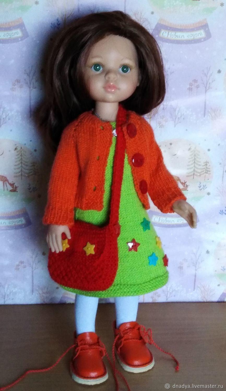 осенний костюм для куколки Паола Рейна, Одежда для кукол, Полевской,  Фото №1