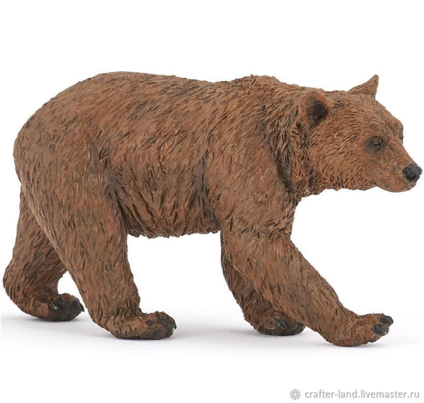 Silicone form 'Brown bear', Form, Istra,  Фото №1