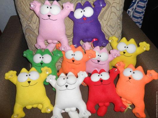 Игрушки животные, ручной работы. Ярмарка Мастеров - ручная работа. Купить кот саймон. Handmade. Комбинированный, позитивный подарок
