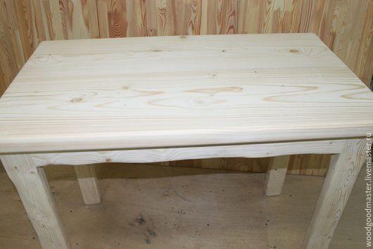 Мебель ручной работы. Ярмарка Мастеров - ручная работа. Купить Стол обеденный - без покрытия. Handmade. Дерево, стол