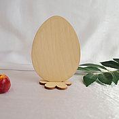 Материалы для творчества handmade. Livemaster - original item Easter egg, blank for decoupage and painting. Handmade.