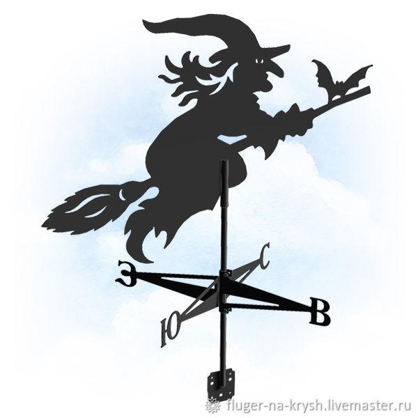 Флюгер Ведьма. Флюгер на крышу, Флюгер, Барнаул,  Фото №1