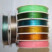 Материалы для творчества handmade. Livemaster - original item Jewelry cord assorted colors (1 meter). Handmade.