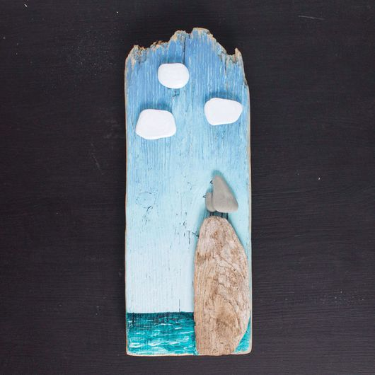 Пейзаж ручной работы. Ярмарка Мастеров - ручная работа. Купить Морское панно. Handmade. Панно, панно на стену, подарок с моря