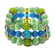 Украшения handmade. Livemaster - original item A bracelet made of beads: Bracelet