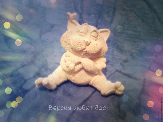 Куклы и игрушки ручной работы. Ярмарка Мастеров - ручная работа. Купить Кот.. Handmade. Белый, гипсовая статуэтка, гипс