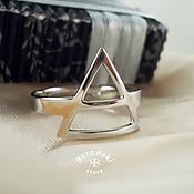 Rings handmade. Livemaster - original item Ring Triad