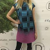Одежда ручной работы. Ярмарка Мастеров - ручная работа Эксклюзивное платье из ткани Kenzo. Handmade.
