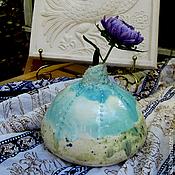"""Для дома и интерьера ручной работы. Ярмарка Мастеров - ручная работа вазы """"Капли дождя"""". Handmade."""