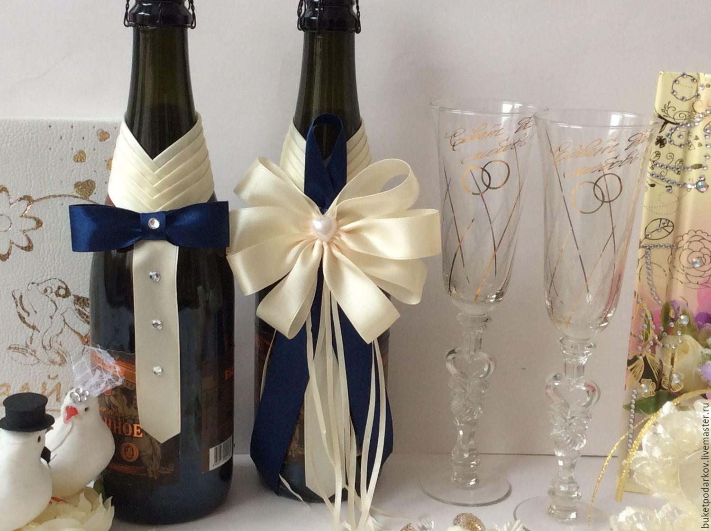 Свадебные шампанского своими руками 701