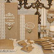 Свадебный салон ручной работы. Ярмарка Мастеров - ручная работа Рустикальные свадебные аксессуары. Handmade.