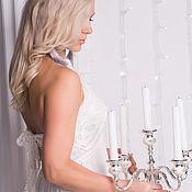 Одежда ручной работы. Ярмарка Мастеров - ручная работа В НАЛИЧИИ Эксклюзивное платье с кружевом , вечернее платье. Handmade.