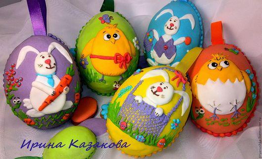 """Подарки на Пасху ручной работы. Ярмарка Мастеров - ручная работа. Купить ПАСХАЛЬНЫЙ СУВЕНИР - """"Пряничное пасхальное яйцо"""" - имбирный пряник. Handmade."""
