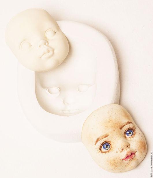 Куклы и игрушки ручной работы. Ярмарка Мастеров - ручная работа. Купить Гипсовая форма для создания личика. Handmade. Белый