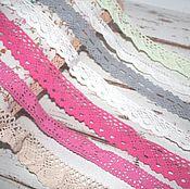 Материалы для творчества handmade. Livemaster - original item Cotton lace in stock. Handmade.