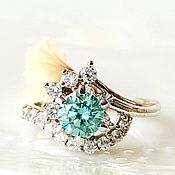 Украшения handmade. Livemaster - original item 18p Diamond ring