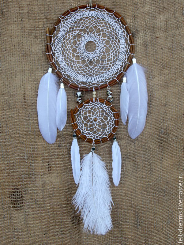 Dreamcatcher 'Mijin' (with an Indian - the return of the moon), Dream catchers, Magnitogorsk,  Фото №1