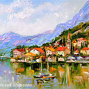Картины и панно handmade. Livemaster - original item Oil painting with the sea
