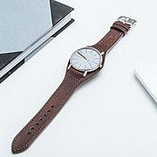 Watch Straps handmade. Livemaster - original item Watchband, leather, Bund / Strap. Handmade.