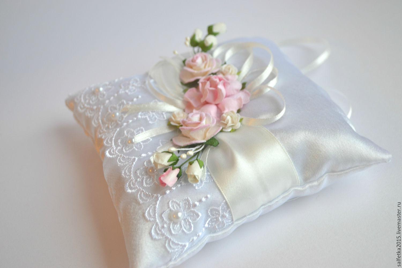 Как сшить подушечку для колец на свадьбу 92
