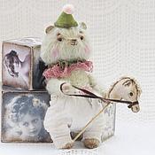 Куклы и игрушки ручной работы. Ярмарка Мастеров - ручная работа Мишка Клоун Веселкин. Handmade.