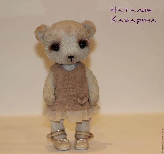 Мишки Тедди ручной работы. Ярмарка Мастеров - ручная работа. Купить ХИЛЛ.... Handmade. Мишка тедди, подарок, металлический гранулят