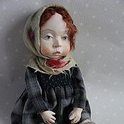 """Куклы и игрушки ручной работы. Ярмарка Мастеров - ручная работа """"Моя Маруся"""" куколка подвижная будуарная.. Handmade."""