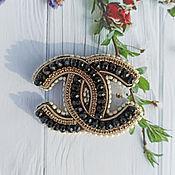 Украшения handmade. Livemaster - original item Brooch-pin: Chanel. Handmade.