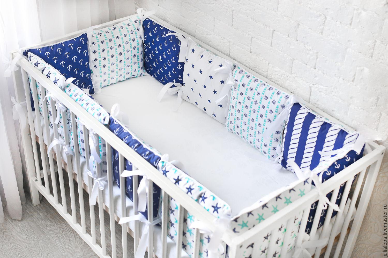 Бортики в кроватку малыша своими руками: идеи, выкройки 29