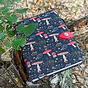 Канцелярские товары handmade. Livemaster - original item Diary of Fly agarics. Handmade.