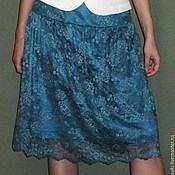 Одежда ручной работы. Ярмарка Мастеров - ручная работа Юбка из кружевного полотна. Handmade.