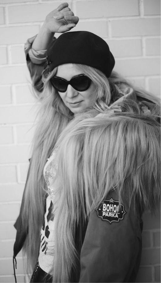 Верхняя одежда ручной работы. Ярмарка Мастеров - ручная работа. Купить Куртка парка на меховой подстежке из яка.. Handmade. Куртка